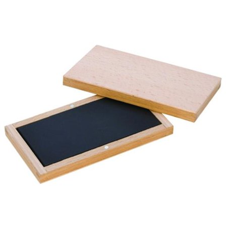 SCY STN722 6 x 3 in. Natural Test Stone in Wooden Box ()