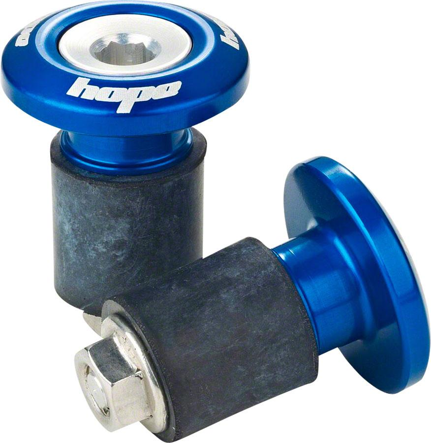 Hope Grip Doctor Bar End Plugs, Blue