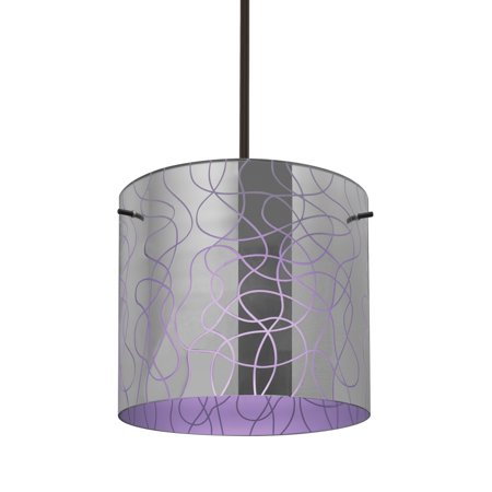 Besa Lighting-1TT-LITH12PL-BR-Lithium 12 - One Light Stem Pendant ()