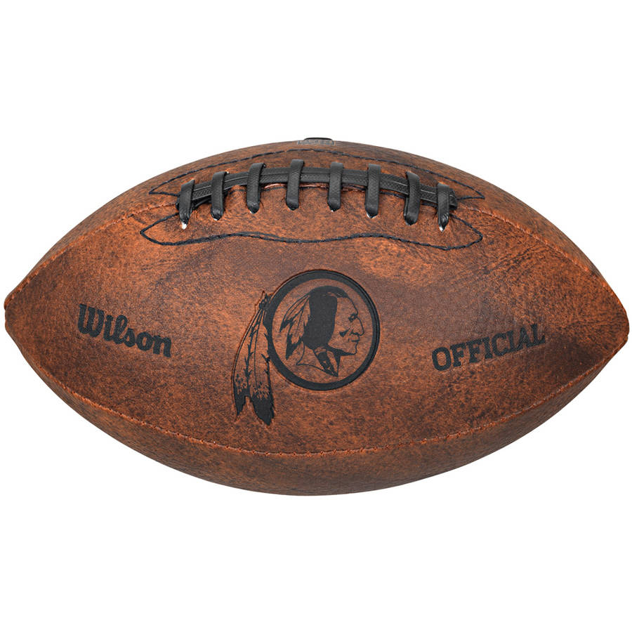 "Wilson NFL 9"" Throwback Football, Washington Redskins"
