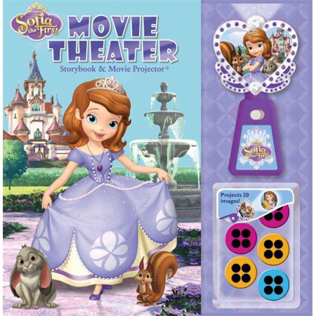 Disney Sofia The First Movie Theater Storybook   Movie Projector