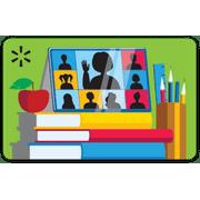 Virtual Back-to-School Walmart Gift Card