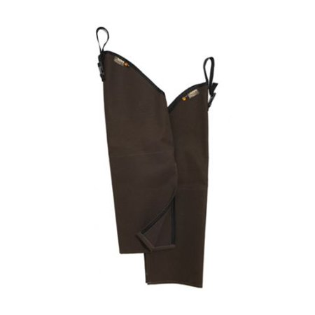 - Rattlers Original Snake Chaps, Brown, Regular/Short 9001-Brown-RS