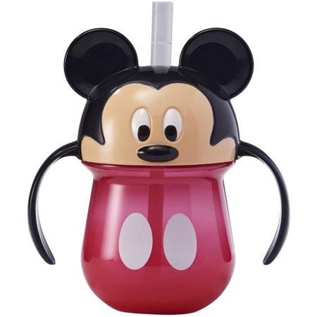 The First Years Disney Mickey Mouse Straw Trainer Cup 7oz