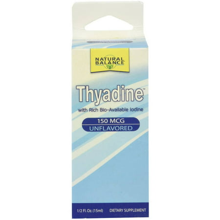 Natural Balance Thyadine Rich Bio-disponible iode, 0,5 OZ