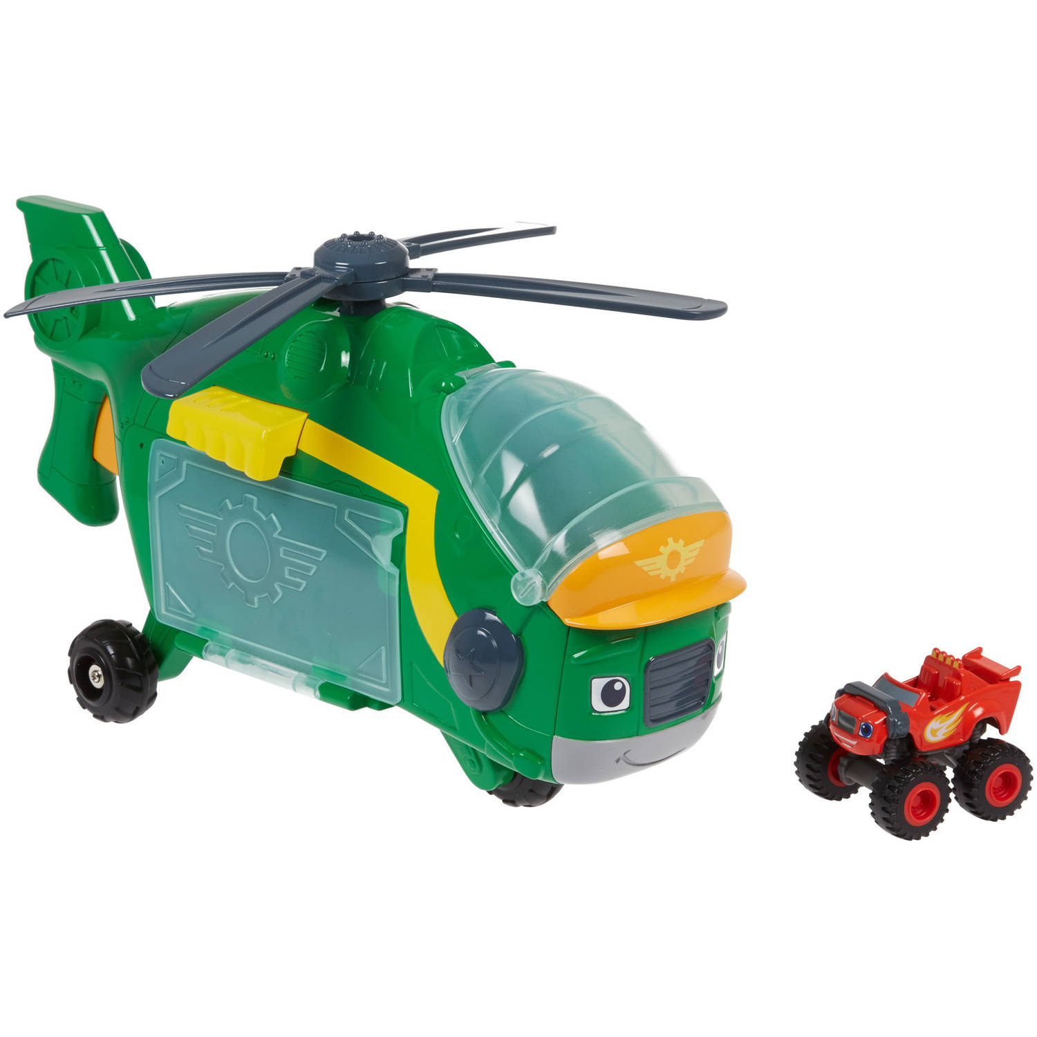 Nickelodeon Blaze and the Monster Machines Monster Copter Swoops by FO SHAN CITY NANHAI MATTEL