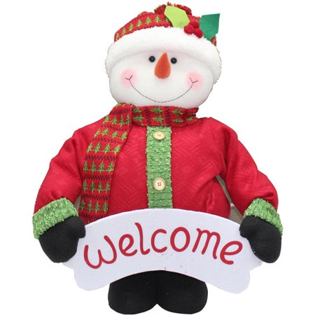 holiday time 40 tall pop up indoor snowman christmas decoration