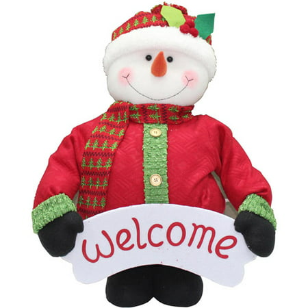 holiday time 40 tall pop up indoor snowman christmas decoration - Walmart Christmas Decorations Indoor
