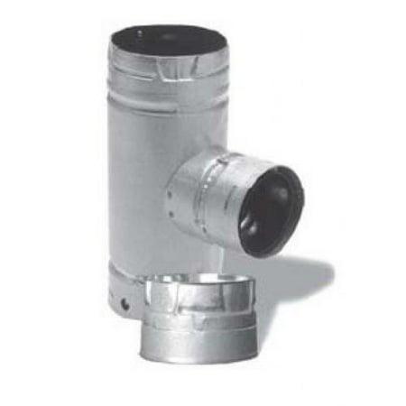 "DuraVent 4PVL-T3 4"" Inner Diameter - Pellet Vent Type L Multi-fuel Chimney Pipe"