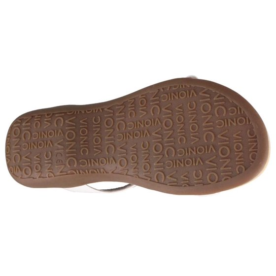 ac20ac01cd8d Vionic - vionic womens lennox backstrap sandal white size 6 ...