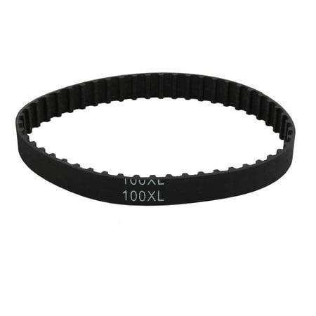 100XL 50 dent 10mm Large 5.08mm Sangle dentée Moteur à Pas Lancement Caoutchouc - image 2 de 2