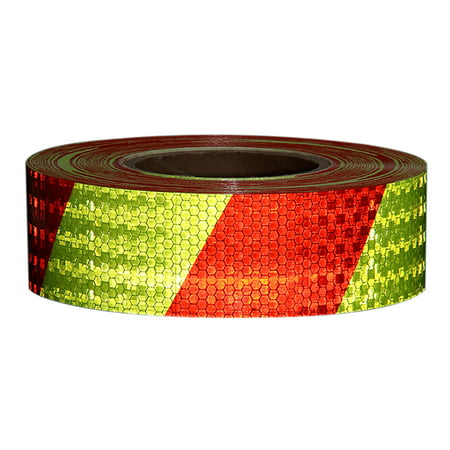 Shining Reflective Safety Warning Tape Self Adhesive Twill Printing Reflective Tape for Car Self Adhesive Safety Tape