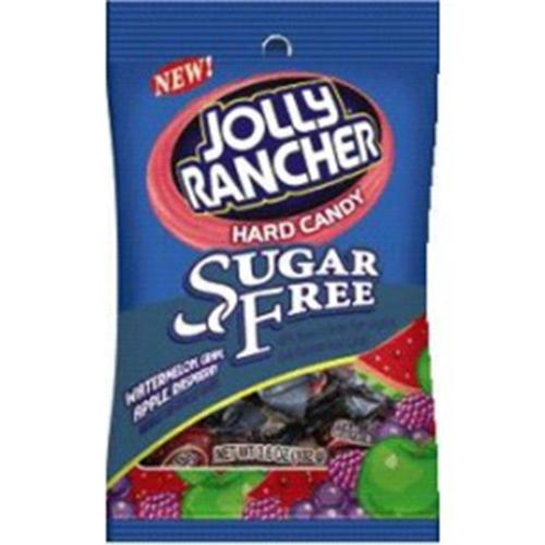 Jolly Rancher Sugar Free Assorted Bag 12 packs (3.6 oz per pack) (Pack of 6)
