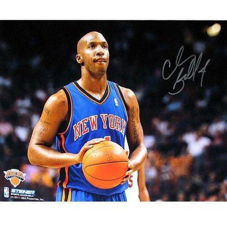 "Chauncey Billups New York Knicks Dribble Up Court Vertical 8"" x 10"" Photo by"