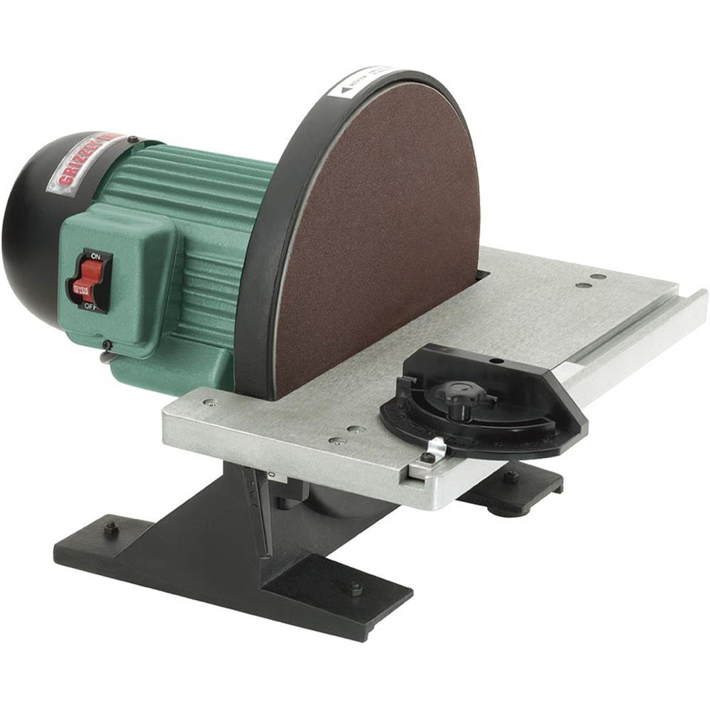 """Grizzly G7297 12"""" Disc Sander by"""