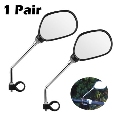 TSV 2 Packs Bundle Universal Mini Rotaty Rearview Handlebar Glass Mirror for Mountain Road Bike Cycling (Best Road Bike Glasses 2019)