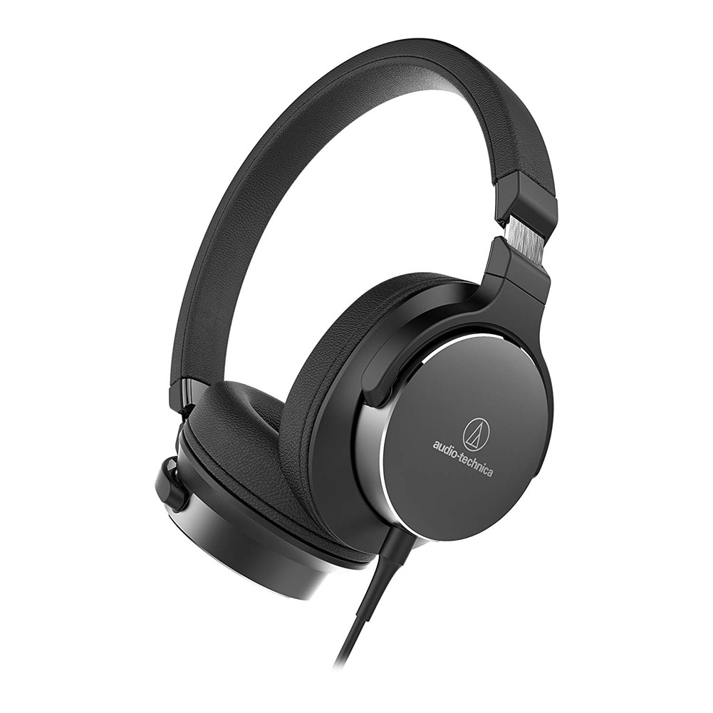Audio-Technica On-Ear High-Resolution Audio Headphones - Black ATH-SR5BK