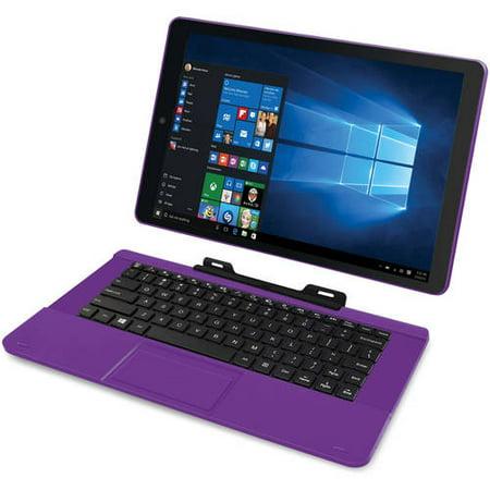 """RCA Cambio 11.6"""" 2-in-1 Tablet 32GB Intel Quad Core Windows 10"""