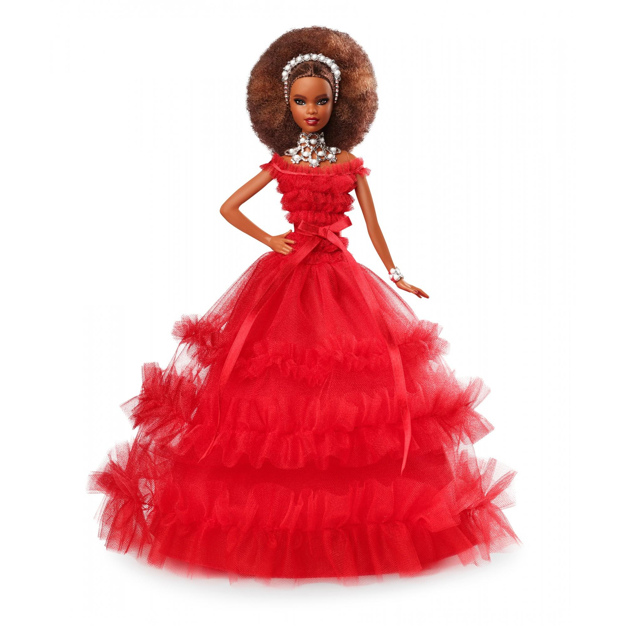 2018 Holiday Collector Barbie Signature Nikki Doll with Stand