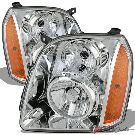 For 2007 2014 Yukon Yukon Xl Chrome Housing Headlights