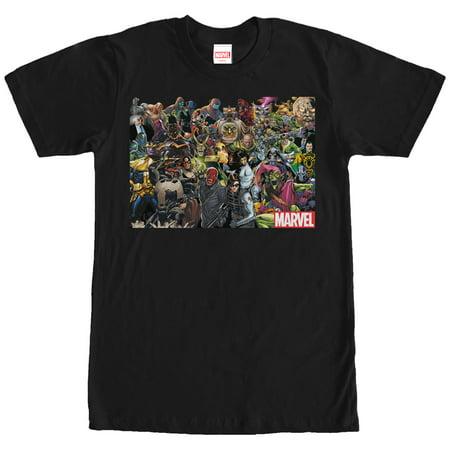 Marvel Men's Villain Collage T-Shirt - Female Villains Marvel