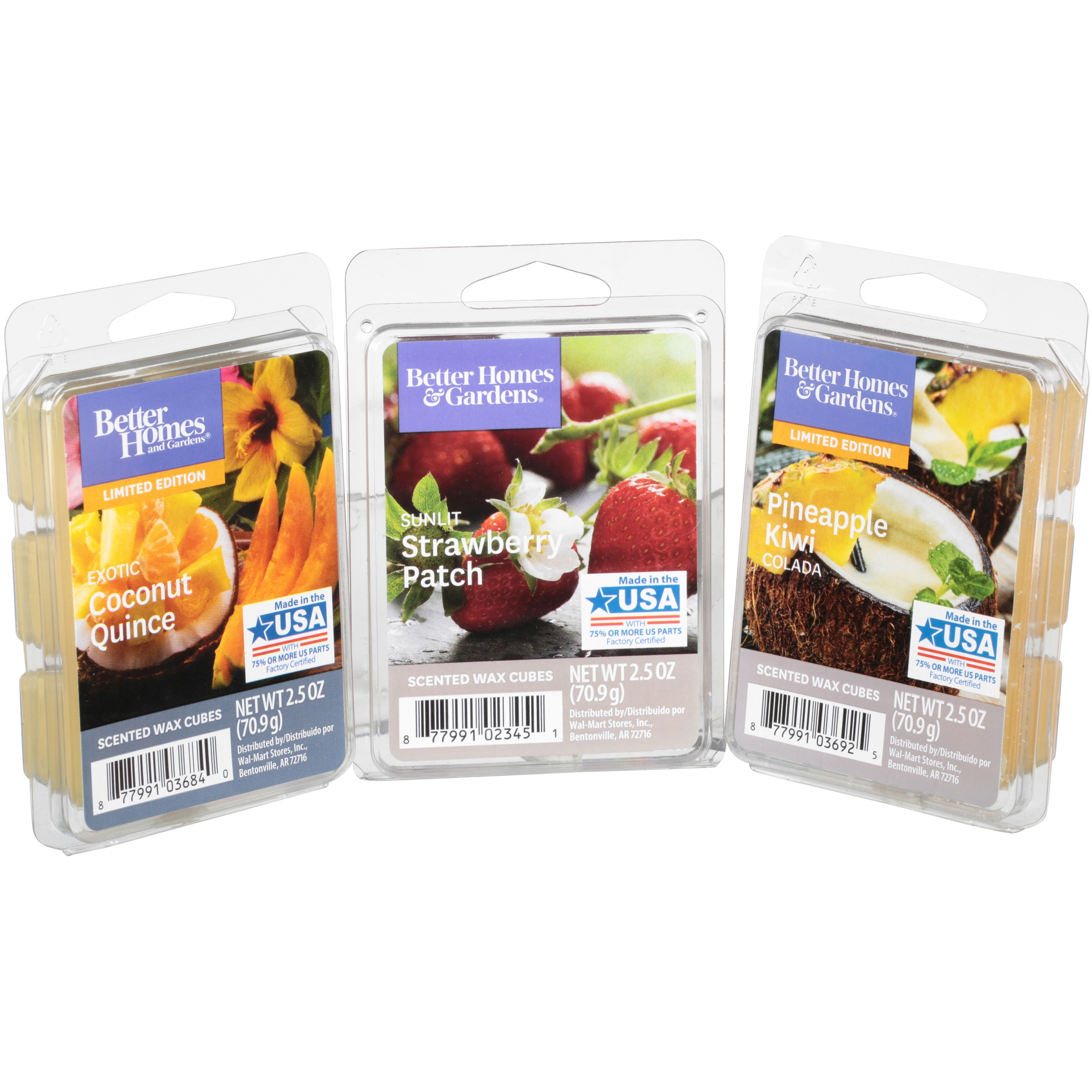 Better Homes & Gardens® Touch of Fruit Scented Wax Cubes Variety Pack 10 ct Box