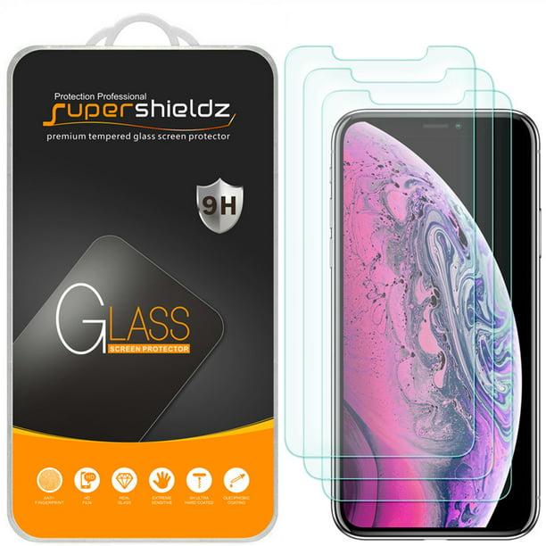 3-Pack] Supershieldz for Apple iPhone 11 Pro Max / iPhone Xs Max (6.5 inch)  Tempered Glass Screen Protector, Anti-Scratch, Anti-Fingerprint, Bubble  Free - Walmart.com - Walmart.com