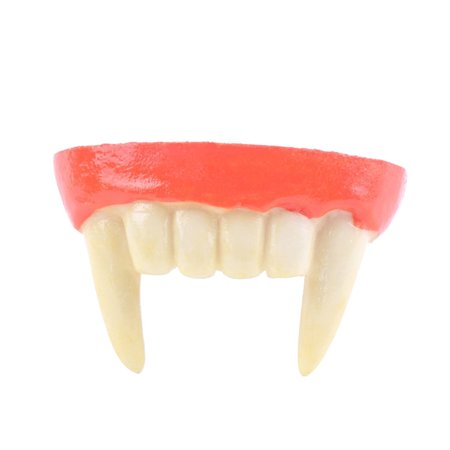 Resin Vampire Teeth Vampire Fangs Dentures Halloween Party Favors Cosplay Prop Decoration Horror Scary Teeth for $<!---->