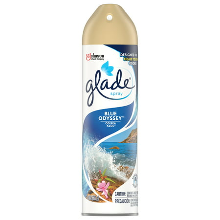Glade Blue Odyssey Room Spray Air Freshener, 8 oz