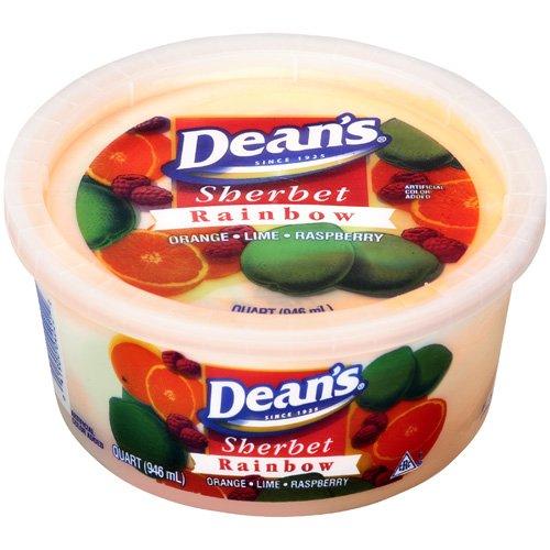Dean?s Rainbow Sherbet, 1 qt
