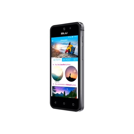 BLU VIVO 5 Mini V050QBLACK Smartphone - 3G GSM 850/1700/1900/2100 (Refurbished) ()