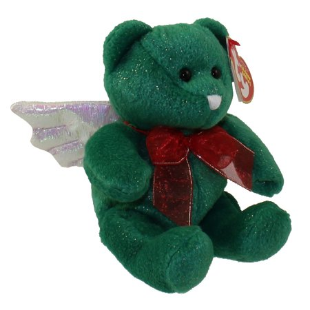 - TY Beanie Baby - HARK the Angel Bear (Green Version) (6.5 inch)