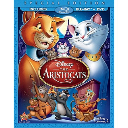 The Aristocats  Special Edition   Blu Ray   Dvd