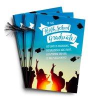 DaySpring  -  High School  Graduate - Only Beginning - 3 Premium Graduation Cards