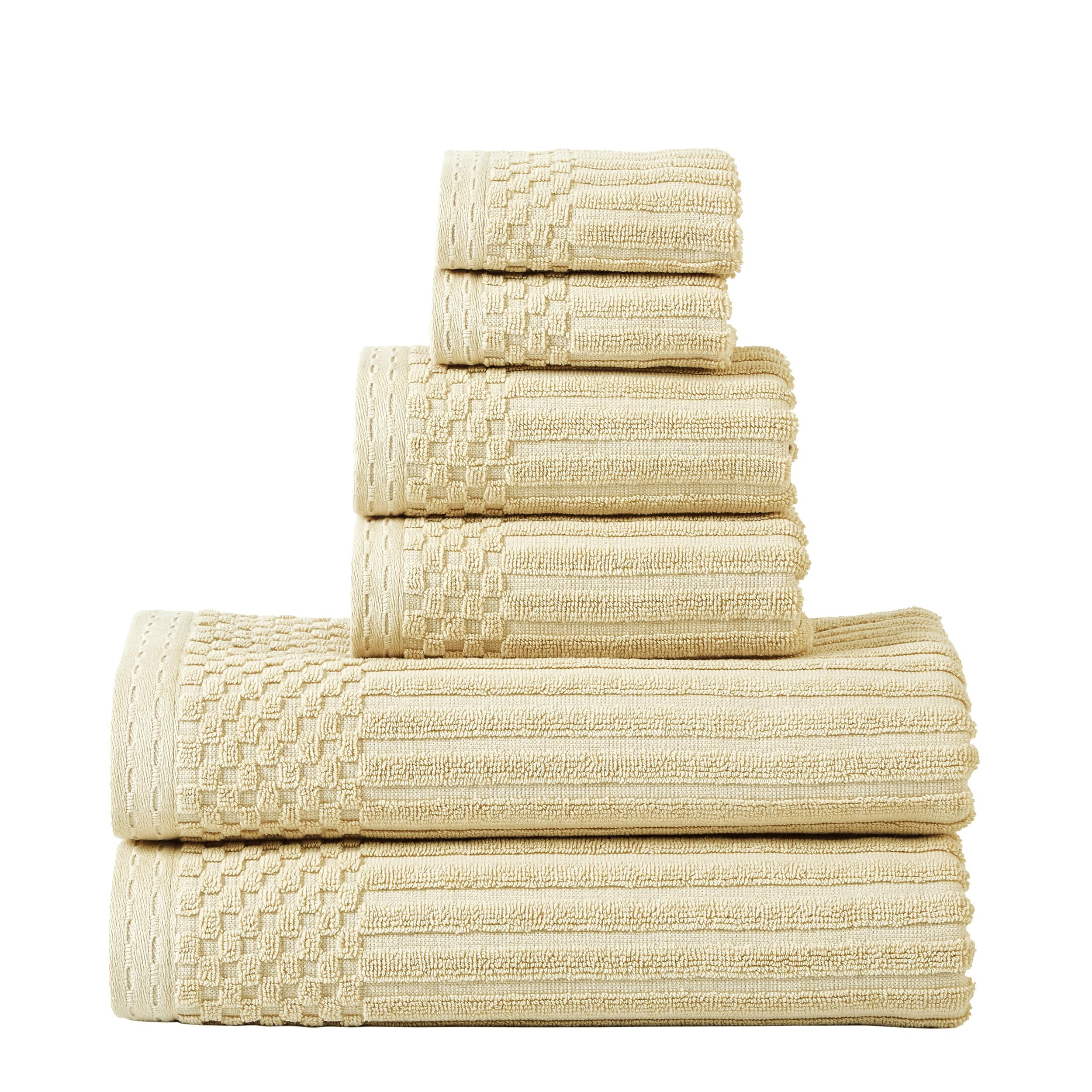 Superior 100-percent Cotton Soho 6-Piece Towel Set - Turquoise