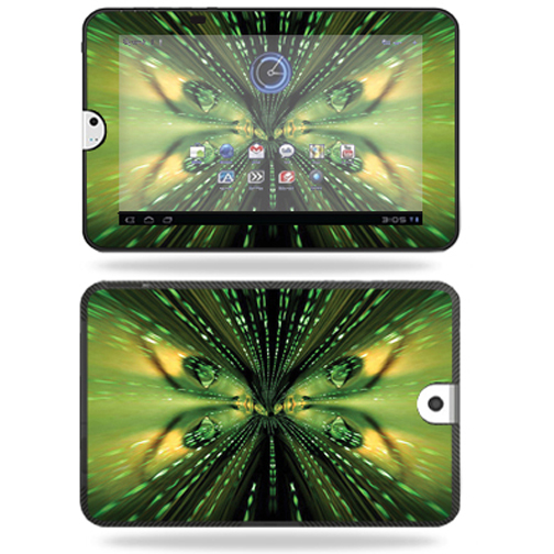 Mightyskins Protective Vinyl Skin Decal Cover for Toshiba Thrive 10.1 Android Tablet wrap sticker skins Matrix