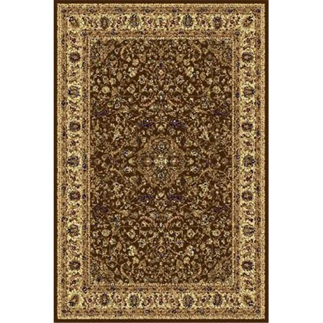 IMS 21130771005016 7 ft. RUNNER SUPERIOR QUALITY QUALITY AREA RUG-CLASSIC COLLECTION-BLACK