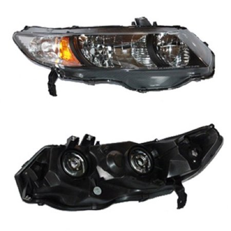 Go-Parts OE Replacement for 2010 - 2011 Honda Civic Front Headlight Assembly Housing / Lens / Cover - Right (Passenger) Side - (Coupe; Automatic Transmission + Coupe; Manual Transmission; 5 (Honda Civic 5 Speed Manual Transmission For Sale)