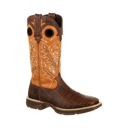 Women's Durango Boot DRD0313 Lady Rebel Faux Exotic Cowgirl Boot (Fancy Cowgirl Boots Rhinestones)
