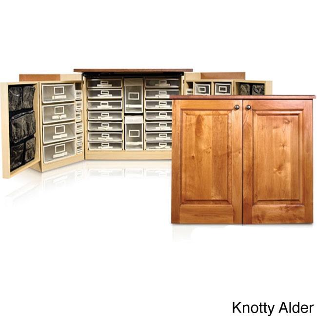 The Original Scrapbox Minibox Scrapbooking Crafts Storage Cabinet