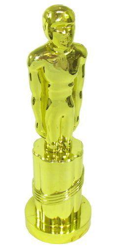"""9-1 4"""" Tall On a 3"""" Dia Base Plastic Little Oscar-Esque Award by US TOY GROUP LLC"""