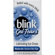 Blink Gel Tears Lubricating Eye Drops Moderate-Severe Dry Eye 10 ML