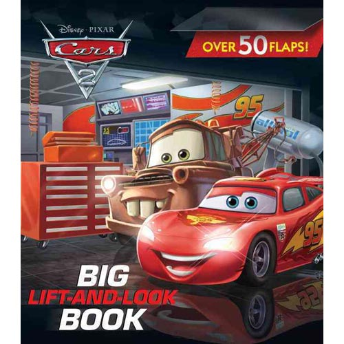 Cars 2 Big Lift-And-Look Book
