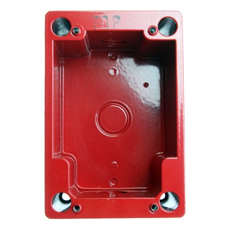 GE Security Weather & Explosion Proof Manual Station Back-Box for MPSR1-S45W-GE (Ge Security Wall)
