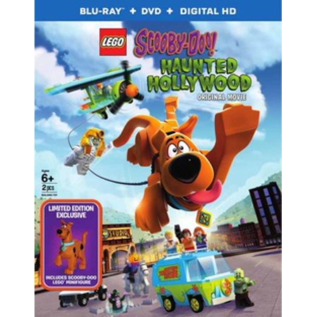 Lego Scooby: Haunted Hollywood (Blu-ray) (VUDU Instawatch Included) - Lego Halloween Scooby Doo