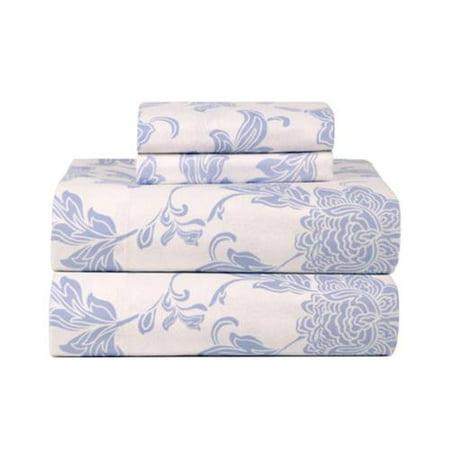 Celeste Home Corsage Ultra Soft Flannel Sheet Set Twin Xl