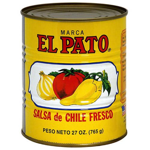 El Pato Salsa de Chile Fresco, 27 oz, (Pack of 12)