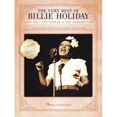 The Very Best of Billie Holiday (Paperback) (Best Singer Songwriters Ever)