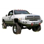Road Armor 47010B RDA47010B 97-02 DODGE RAM HD FRONT STEALTH WINCH BUMPER, SATIN BLACK