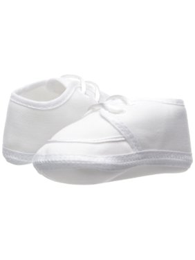 Little Things Mean A Lot 5GBBAS02 Boys Gabardine Lace-up Shoe - Size 2 - Fits 3-6 Month